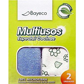 Bayeco Bayeta mutiusos especial cocinas paquete 2 unidades Unidades