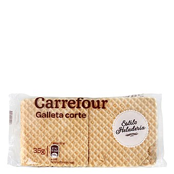 Carrefour Oblea barquillo crujiente 35 g