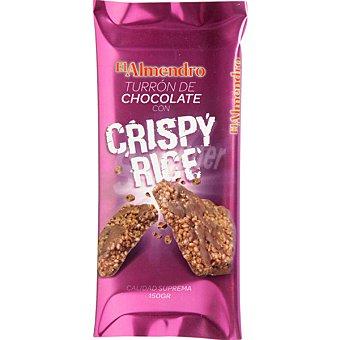 El Almendro Turrón de chocolate Crispy Rice Tableta 150 g