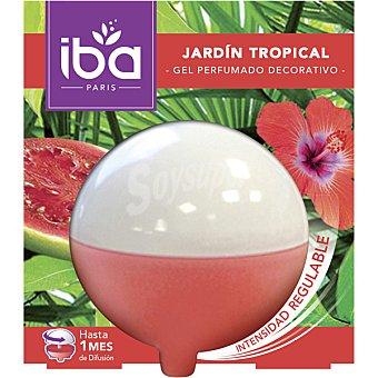 Iba Ambientador gel decorativo Jardín Tropical envase 1 unidad Envase 1 unidad