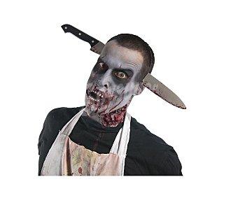 Haunted house Complemento para disfraz de Halloween, Diadema con cuchilo Diadema cuchillo