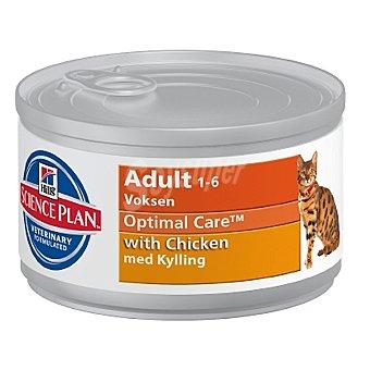 HILL'S SCIENCE PLAN ADULT Alimento para gato con pollo Lata 85 g