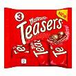Chocolatina teasers Bolsa 3 unidades x 35 g  Maltesers