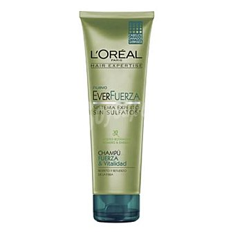 L'Oréal-Hair Expertise Champú fuerza & vitalidad everfuerza para cabellos dañados 250 ml