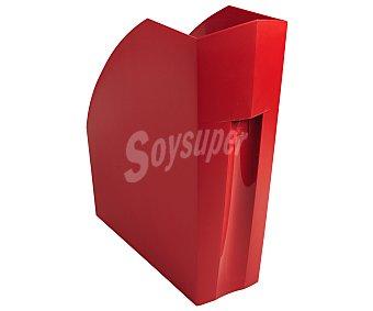 Exacompta Revistero polipropileno traslucido color rojo, EXACOMPTA.