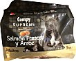 Comida perro adulto razas medianas y grandes con salmon fresco y arroz supreme Paquete 3 kg Compy