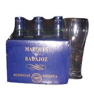 Marqués de Badajoz Vino tinto Pack de 6x750 ml