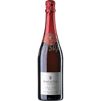 ROSE DE FOC Vino espumoso rosado semiseco Botella 75 cl