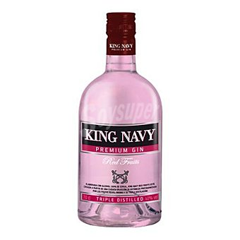 King Navy Ginebra red fruits 70 cl