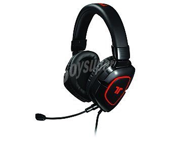 TRITTON Cascos con micrófono AX 180, compatible con PS4/PS3/XBOX360/WiiU/Pc/Mac. Color negro mate 1 Unidad