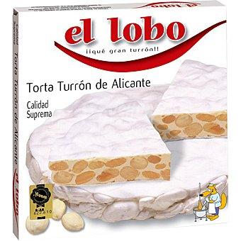 El Lobo Tortas turrón de Alicante I.G.P Estuche 200 g