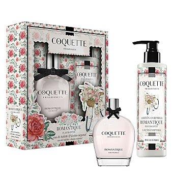 Coquette Estuche de colonia Romantique + loción corporal Fragances 1 ud 1 ud
