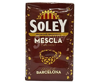 Soley Café molido mezcla Paquete 250 g