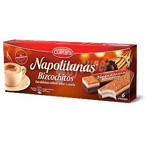 Cuétara Bizcochitos napolitanas 108 GRS