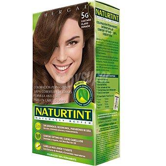 Naturtint Tinte castaño claro dorado 5g color permanente sin amoniaco caja 1 unidad 5g