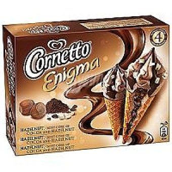 Frigo Corneto Enigma de avellana-chocolate Pack 4x55 ml