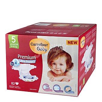 Carrefour Baby Pañal Premium T5 11-25 kg. 82 ud
