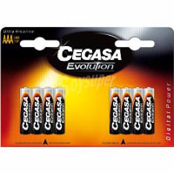 LR03 CEGASA Pila evolution Pack 8 unid