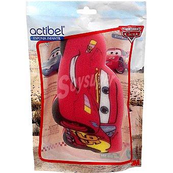 ACTIBEL Cars Esponja de baño infantil bolsa 1 unidad Bolsa 1 unidad
