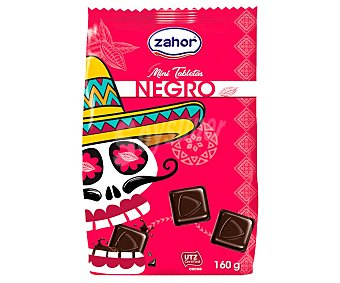 Zahor Bombones de chocolate negro 160 g