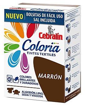 Cebralín Tinte Marrón Cebralín 40 lavado