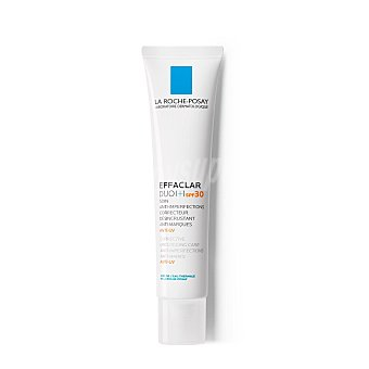 La Roche-Posay Effaclar Duo (+) tratamiento anti-imperfecciones corrector, desincrustante y anti-marcas SPF 30 Tubo 40 ml