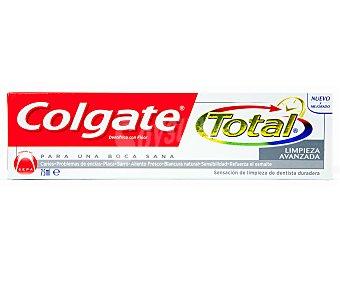 Colgate Dentífrico limpieza total avanzada Tubo 75 ml
