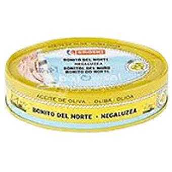 Eroski Bonito en aceite de oliva bajo en sal Lata 115 g