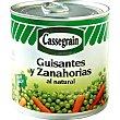 Guisantes y zanahorias natural Cassegrain 265 g Cassegrain
