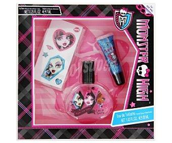 Monster High Estuche Colonia Niños 30ml + Brillo labios 7ml 1 Unidad