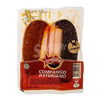 Juntamar Arreglo lentejas compango fresco (panceta morcilla chorizo) Paquete 250 g