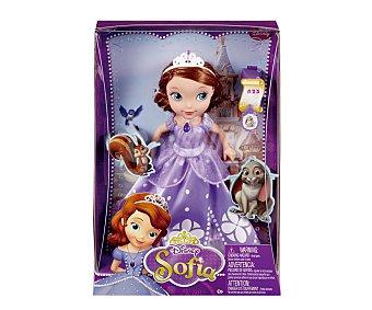 Disney Muñeca Princesa Sofía y Animalitos Parlanchines 1 Unidad