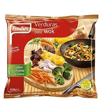 Findus Verduras para wok Bolsa 400 g