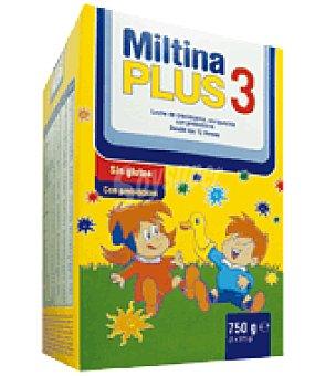 Miltina Leche crecimiento Plus 3 750 g