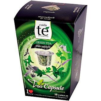 Cuida Té Capsulas de Té Verde - ápsulas 10 c