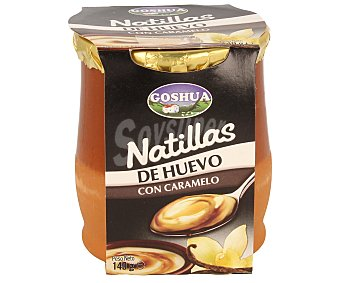 Goshua Natillas de huevo con caramelo 140 g