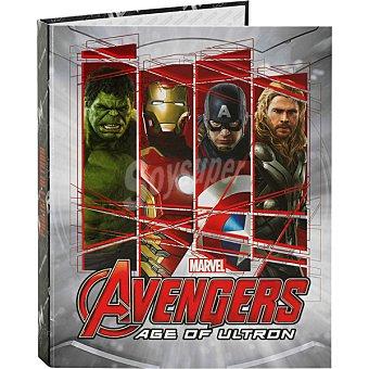 Carpeta carton tamaño folio de 4 anillas Avengers