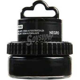 Eroski Crema color negro para calzado 50 ml