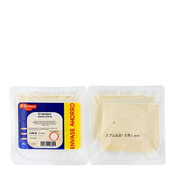 El Ventero Queso tierno en lonchas 2 Sobres de 240 g