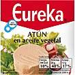 Atún en aceite vegetal Lata 80 g neto escurrido Eureka