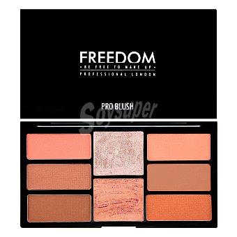 Freedom Paleta de coloretes e iluminador Peach & baked Freedom 1 ud
