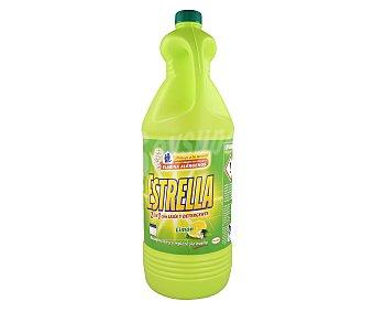 Estrella Lejía con detergente limón Garrafa 3 litros