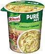 Puré Pot Puré de Patata con Cebolla y Bacon Vaso 59 g Knorr