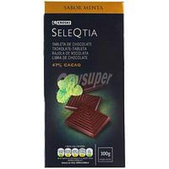 Eroski Seleqtia Chocolate negro sabor menta Tableta 100 g