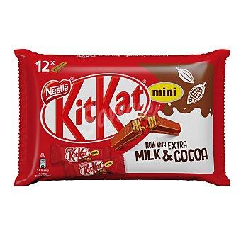 Kit Kat Nestlé Mini barritas de chocolate  Bolsa 200 g