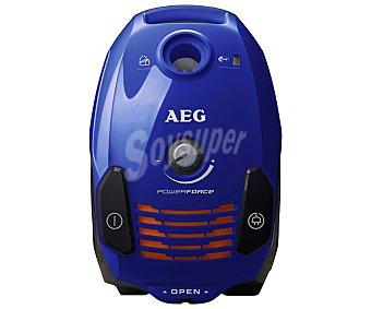 APF6120 Aspirador con bolsa AEG powerforce , potencia 700W, capacidad de la Bolsa 3,5L