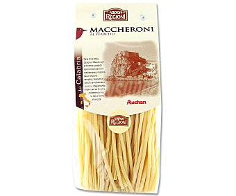 Auchan Maccheronis, pasta de sémola de trigo duro de calidad superior al ferretto 500 gramos