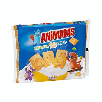 Hacendado Galletas tostadas Animadas Paquete 600 g