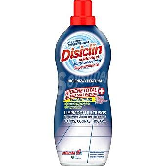 Disiclin limpiador concentrado higienizante multisuperficies con bioalcohol botella 1 l