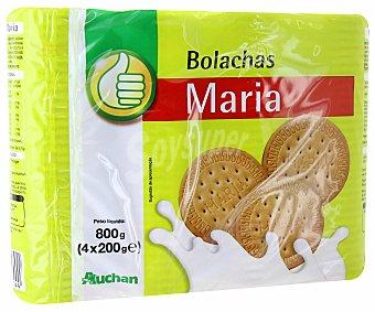 Productos Económicos Alcampo Galleta maría 800 gramos